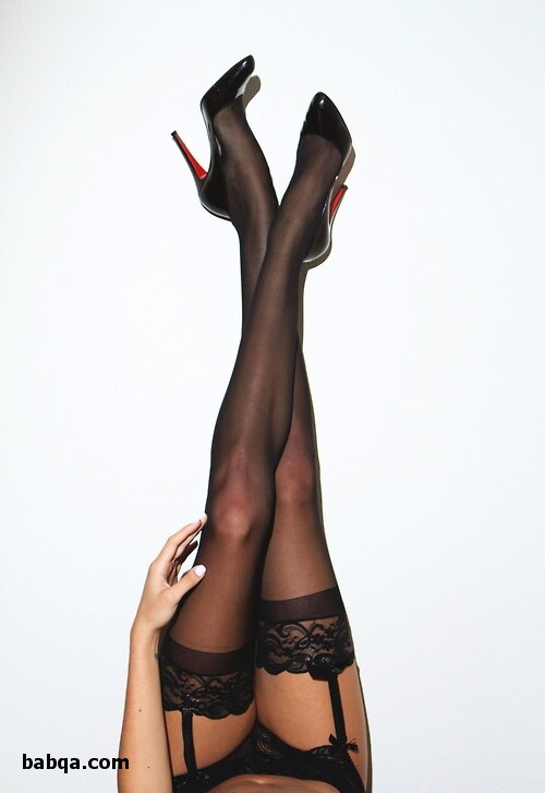 stockings thighs and women in corsets and stockings