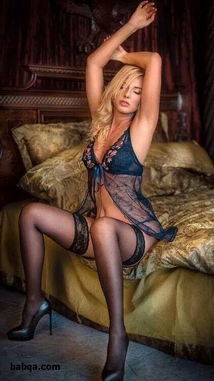 ladies in thigh highs and sexy stocks