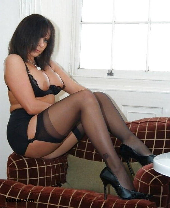 big ass in lingerie and sexy stockings models