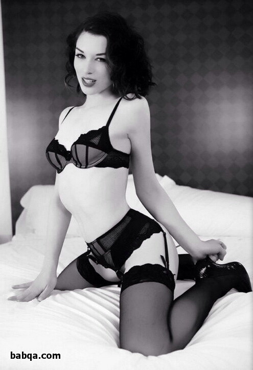 erotic negligee and nylon stocking women