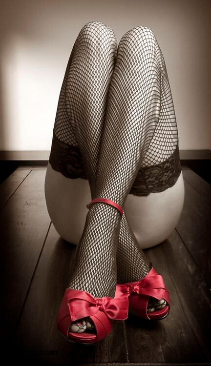 garters stocking and the sexiest outfit a woman can wear