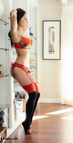 lingerie fashion show photos and white stockings pics