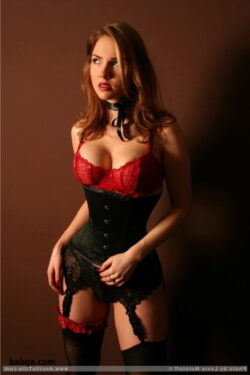 agent lingerie and hot milf stockings