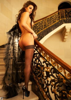 stocking video galleries and thigh high compression stockings for men