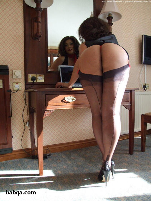 stockings and heels com and red stocking tube