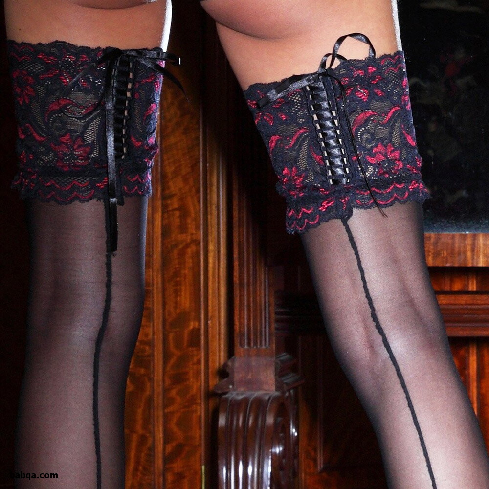 sexy stockings.com and dressing up in lingerie