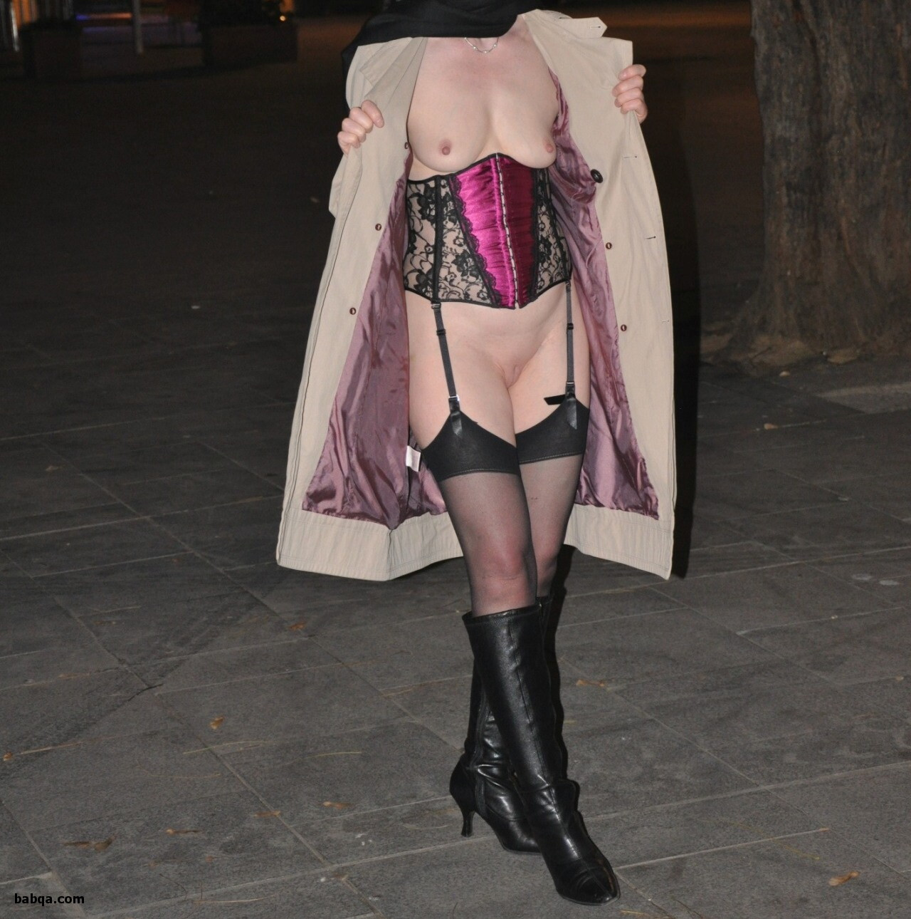 fairy fishnet tights and plus size garter belt and stockings
