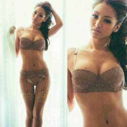crotchless lingerie uncensored and satin lingeries