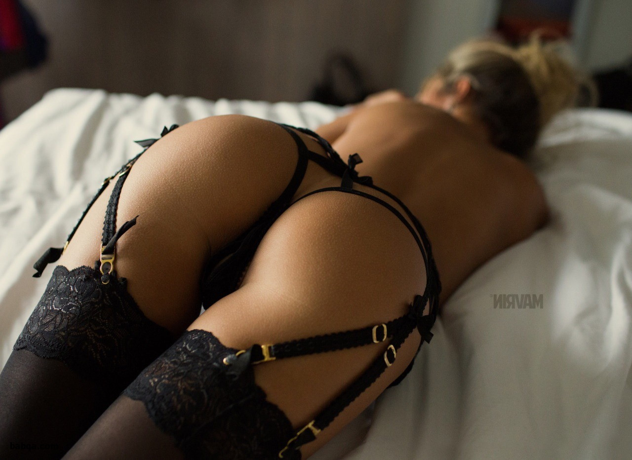 milf ed in stockings and naughty negligee