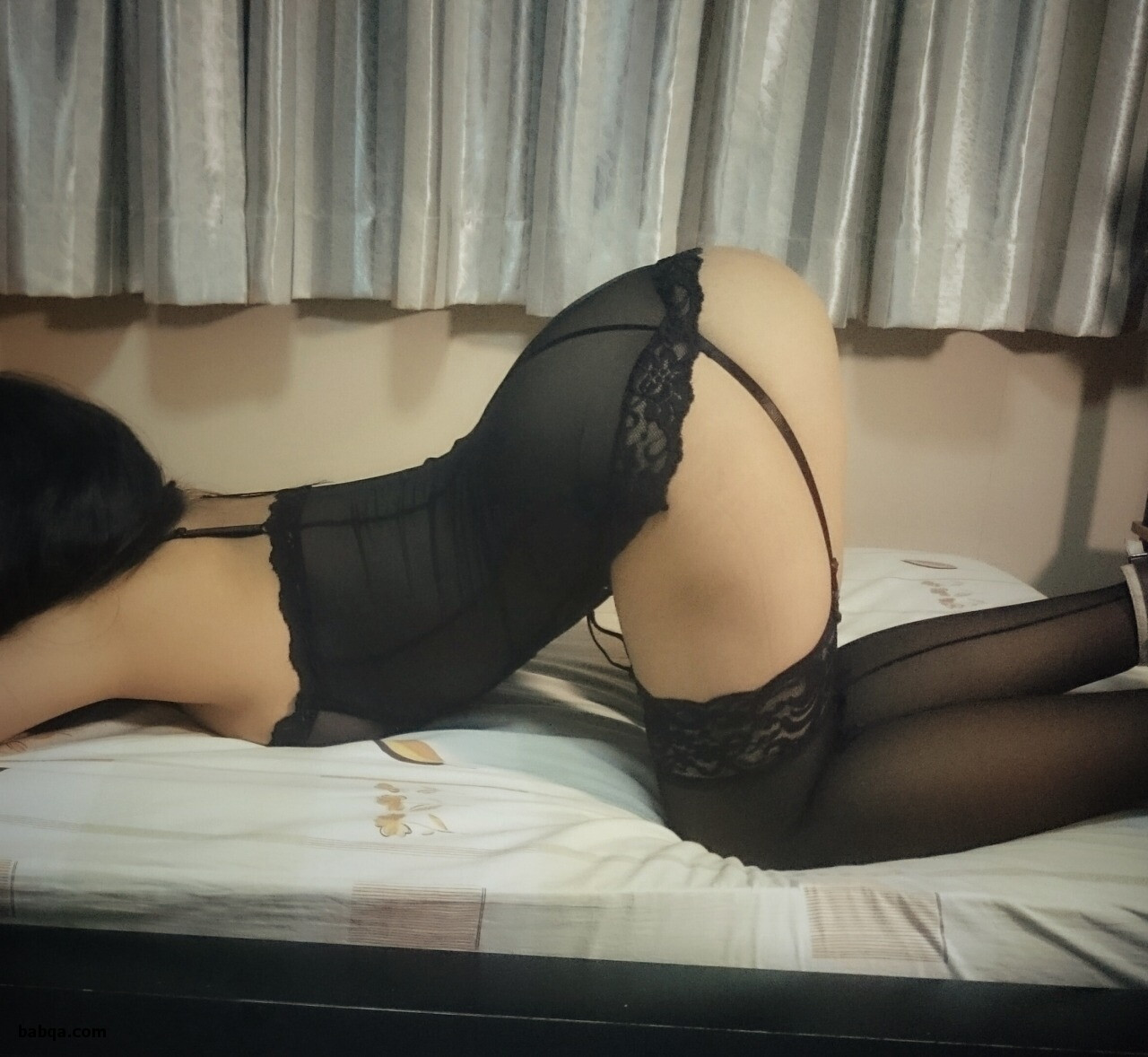 sissy bra fitting and where to black stockings