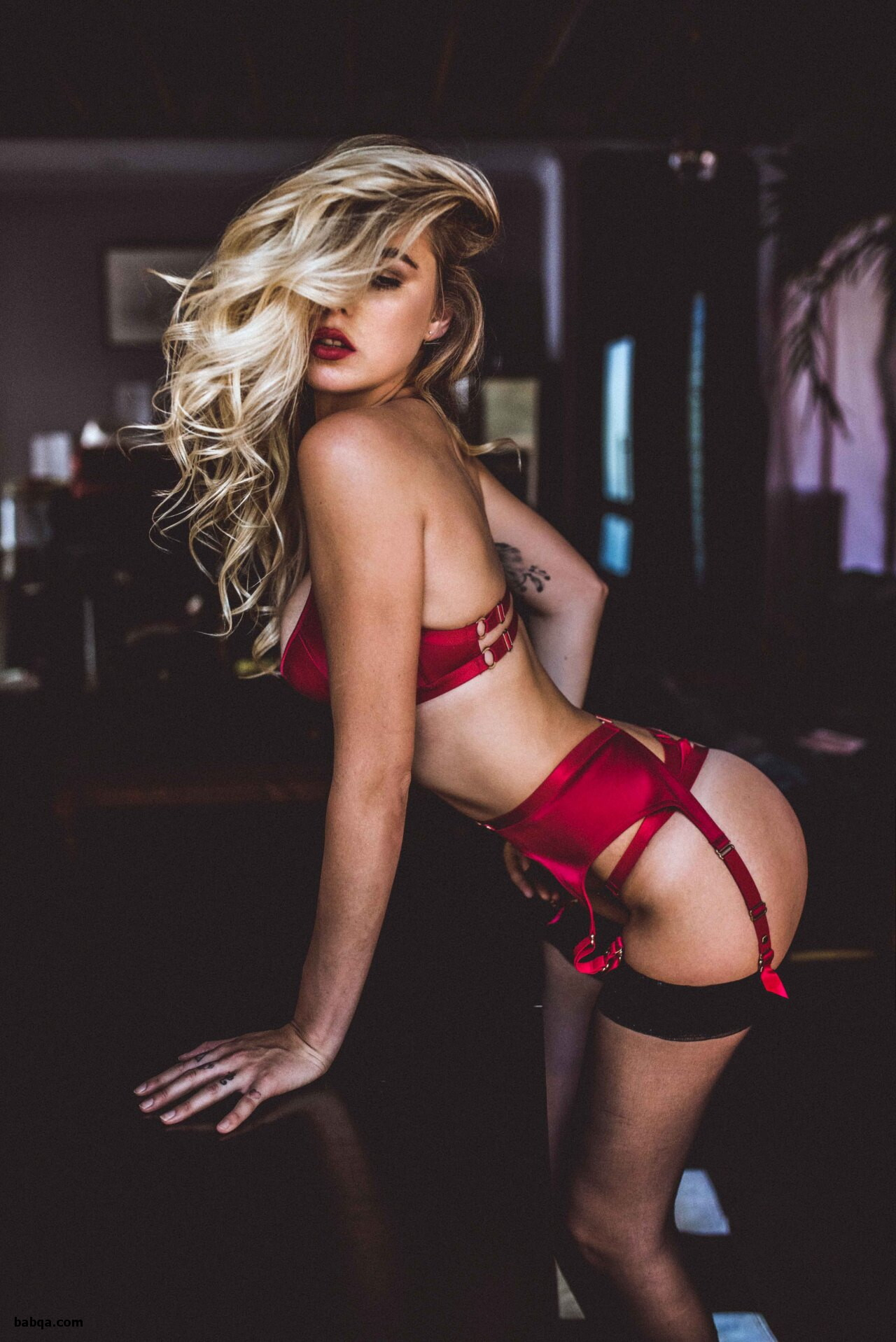 sexy blondes in lingerie and slutty lingerie babes
