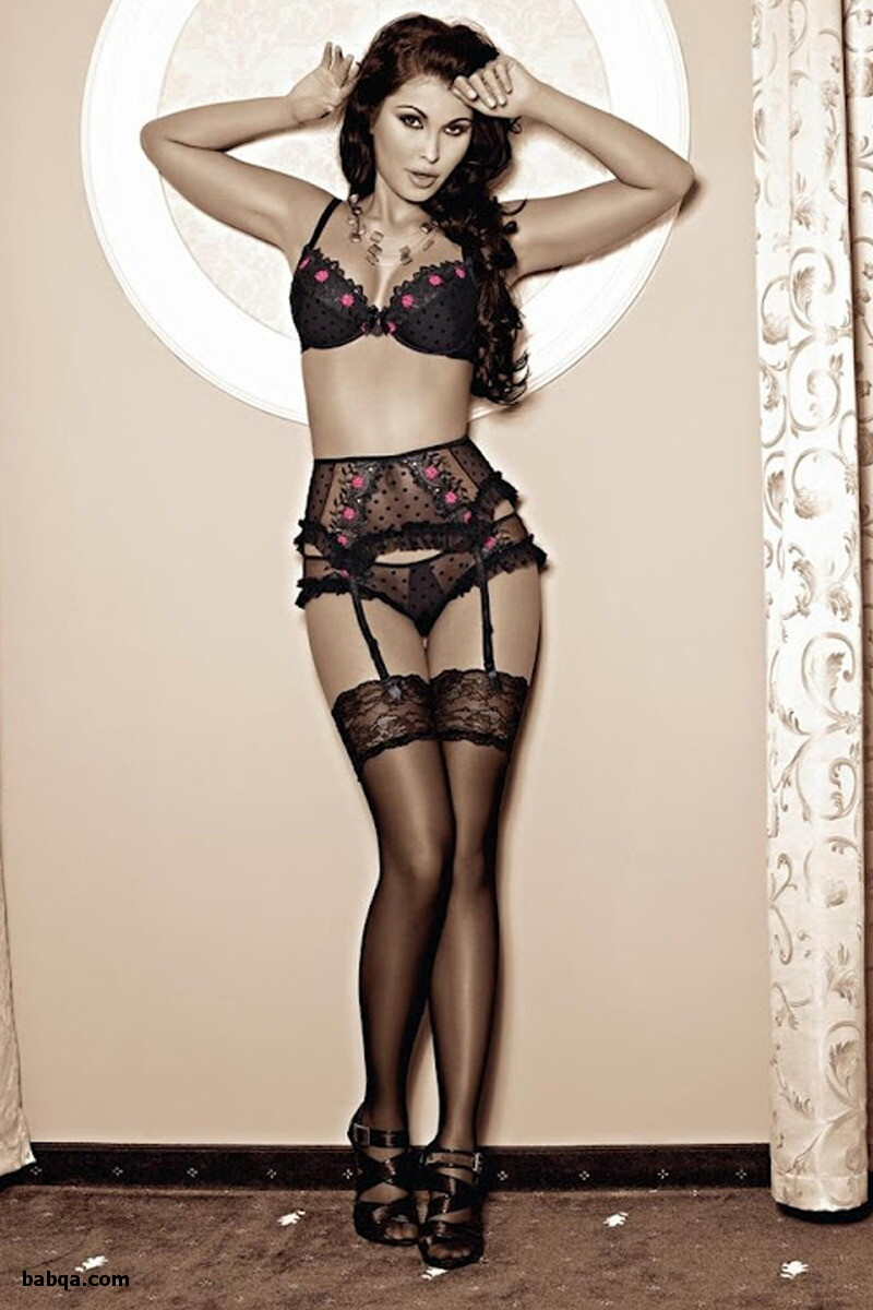sexy babe stockings and lingerie photoes