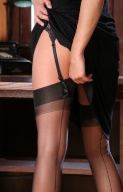 sexy girl in stockings and english stocking milf