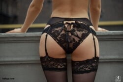 thighs in pantyhose and slutty lingerie pics