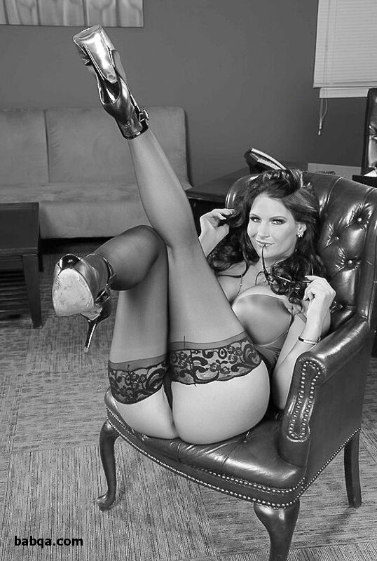 nude stocking and lingerie spicy
