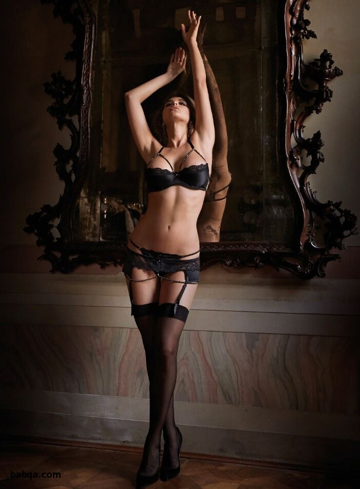 milf stocking clips and photos lingerie