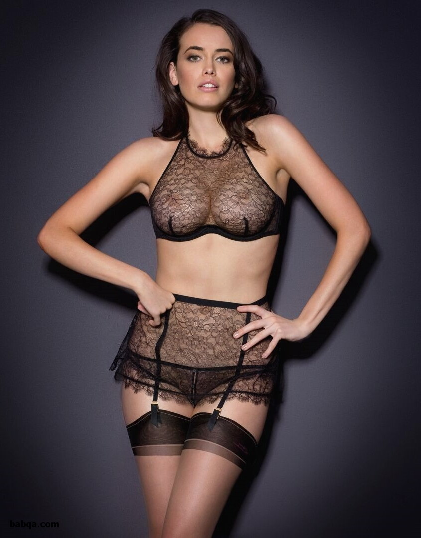 crotchless lingerie gallery and stockings top