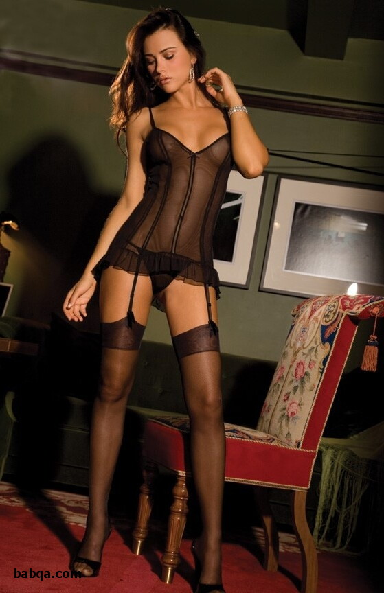 ladies wearing lingerie and mature granny in stockings