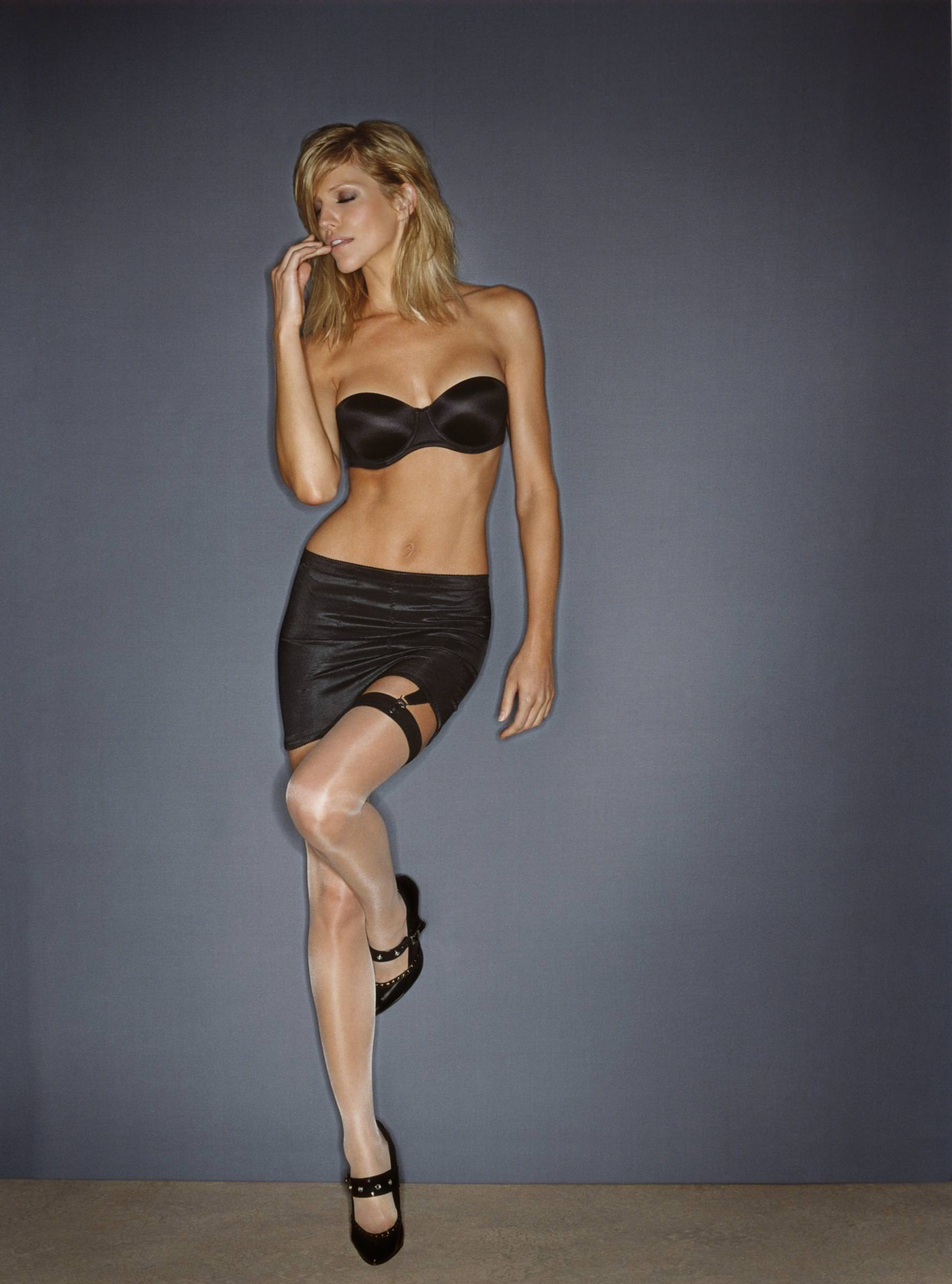 thigh high stockings stay up and seductive lingerie